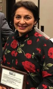 2019-01 Shauna Singh Baldwin - SALA Award for Distinguished Creative Writer 2018, presented Jan 2019