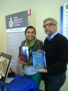 Sharanpal and Ali Kazimi with TSOS